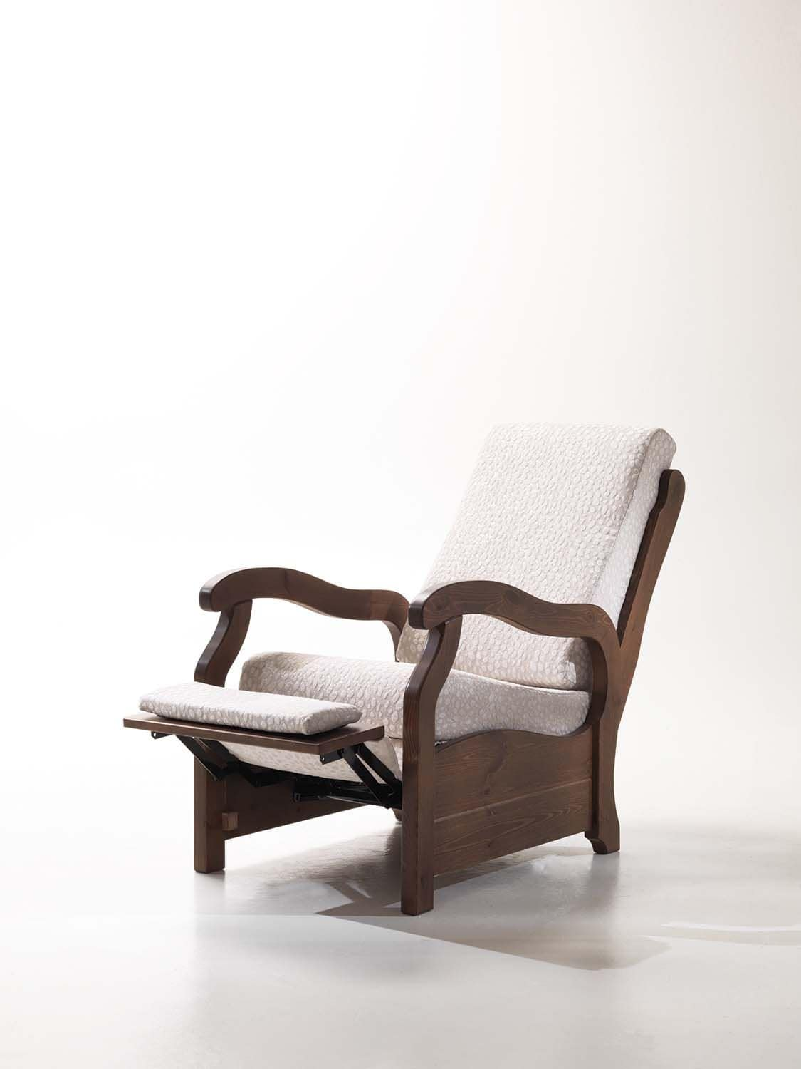 Goya, Relax chair for home, small size, rustic style