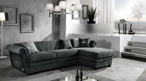 HENDRIX modular, Sofa bed with chaise longue