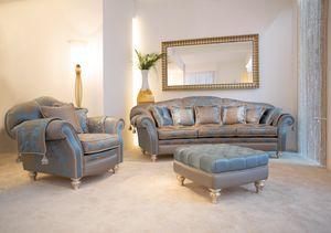 Ibisco Ring, Sofa in classic contemporary style