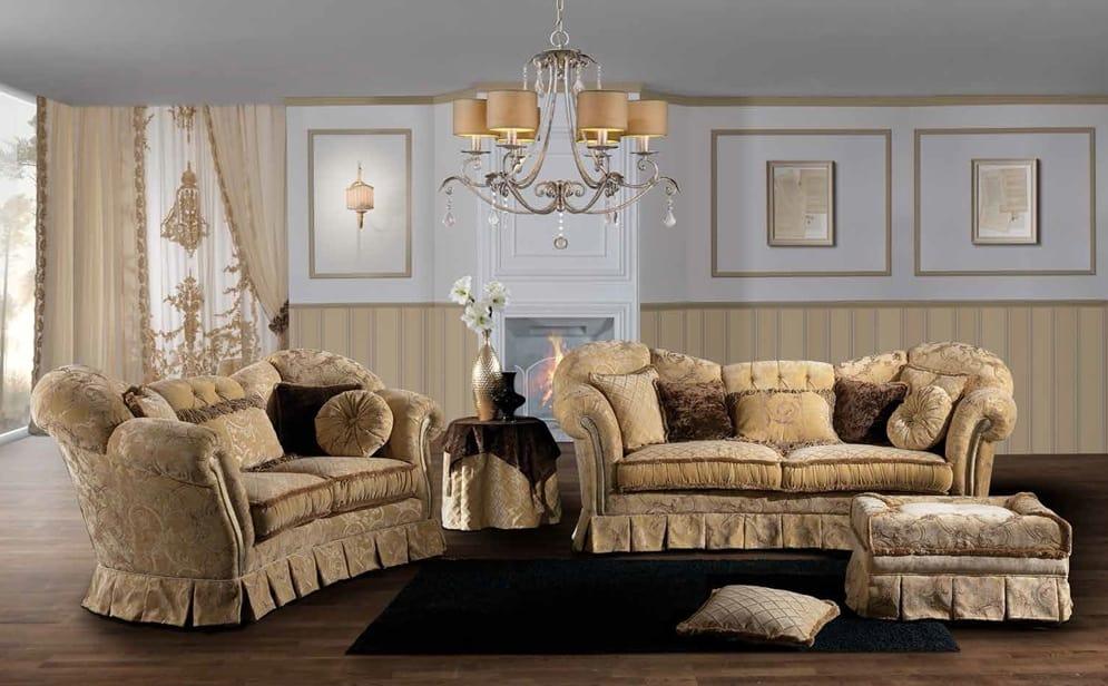 IMPERIALE, Impressive sofa, with a classic design