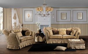 IMPERIALE, Impressive sofa, with a classic design