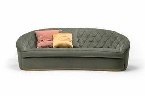 Jasper sofa, Sofa with rounded shapes