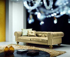 Joyce, Luxurious sofa with a sober elegance