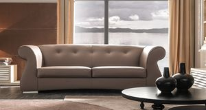 Odra-Quilt Art. 649-Q, Sofa with a classic and harmonious design