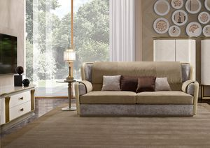 Oliver Art. OL92 - OL93, Sofa with memory padding