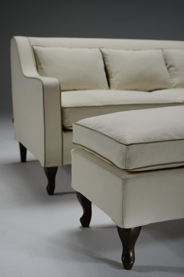 Opera, Classic sofa with three seats