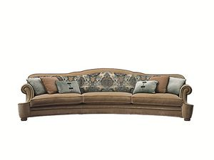 Palais Royal curved, Classic curved sofa