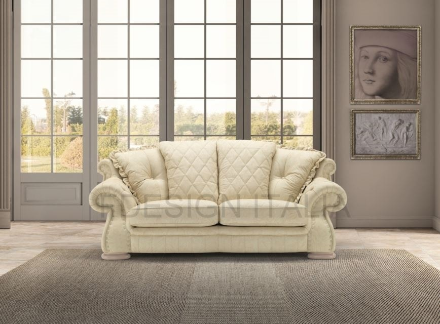 Royal, 2-seater classic style sofa