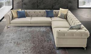 Rubino Art. 9041, Corner sofa in fabric