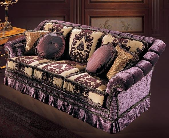 Sofa 4677, Classic style modular sofa