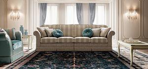 Treviso sofa, Traditional design sofa