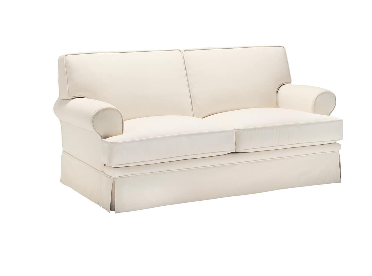 Ulisse, Sofa in dry washable fabric