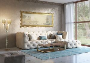 Venere sofa, Modular sofa, with capitonn� decoration