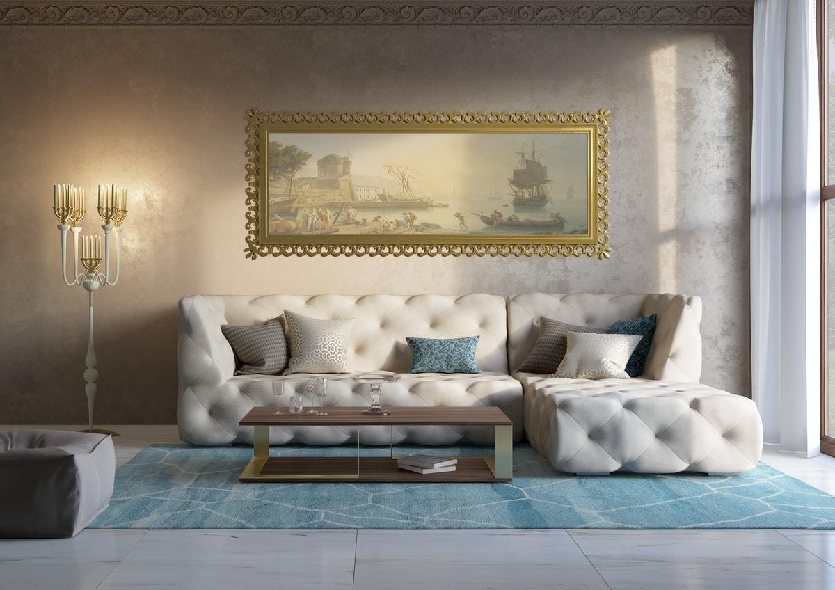 Venere sofa, Modular sofa, with capitonné decoration