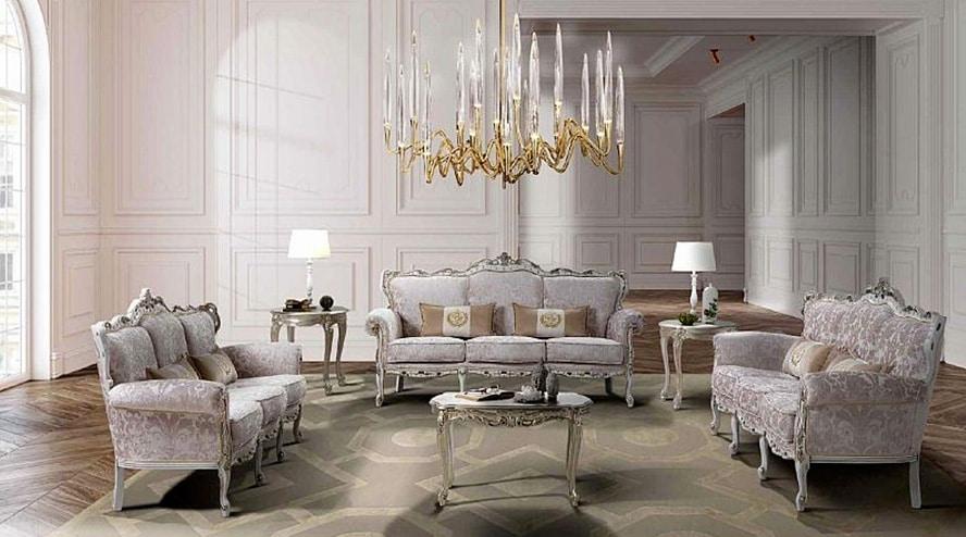 VENEZIANO, Baroque style sitting room