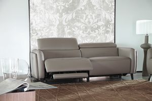 Allure, Leather sofa with relax mechanism