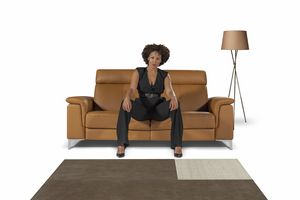 Aria, 2-seater sofa with relax mechanism