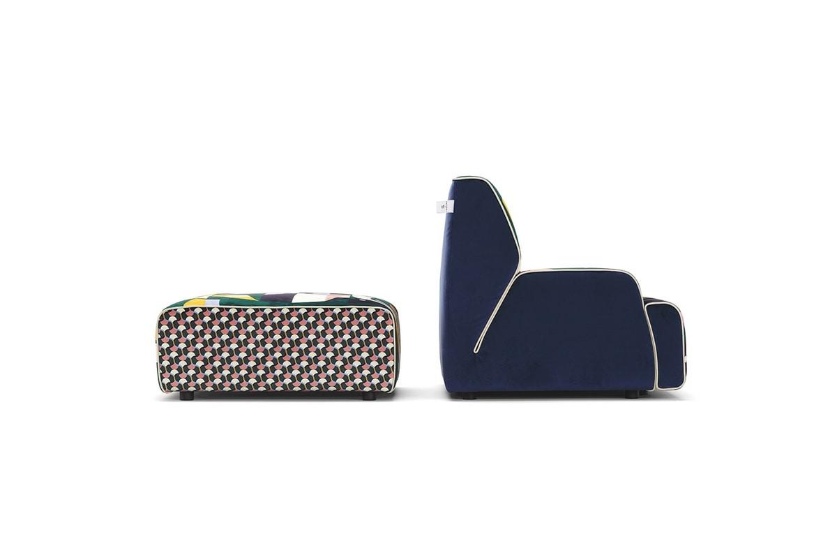 Babouche!, Dynamic modular sofa