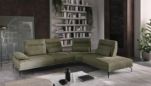 Bebe, Sofa with a solid and imposing design