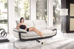 Bilbao, Comfortable and fashionable leather sofa