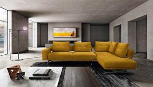 Cave, Corner sofa, with a high visual impact