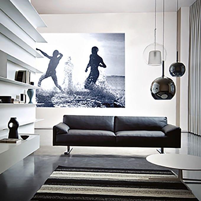 Modern leather sofa   IDFdesign