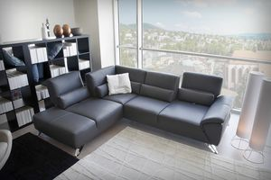 Darwin, Corner sofa with adjustable backrest