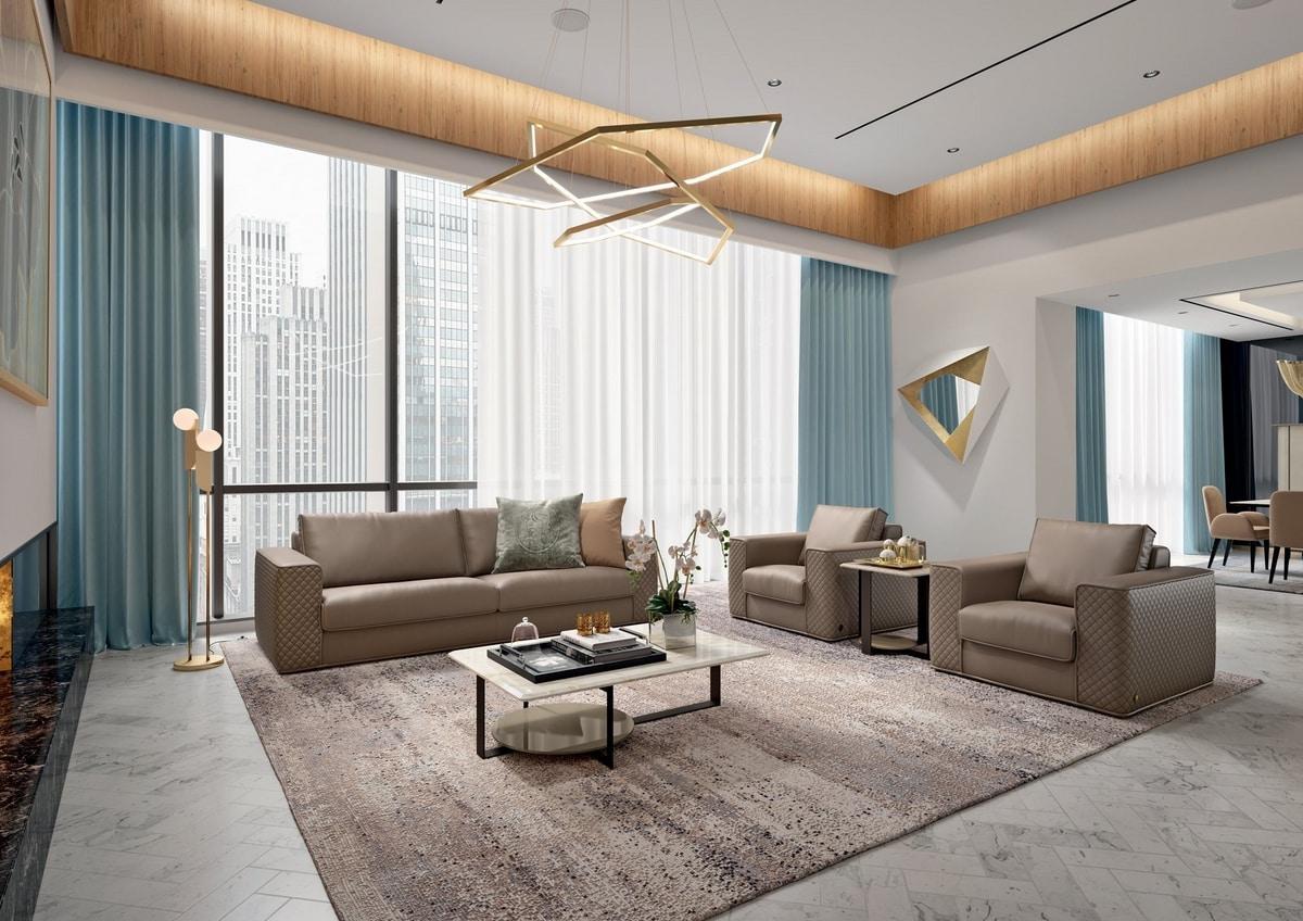 Espada, Sofa with elegant quilting