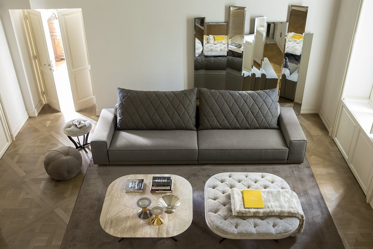 Gary, Sofa with a refined design