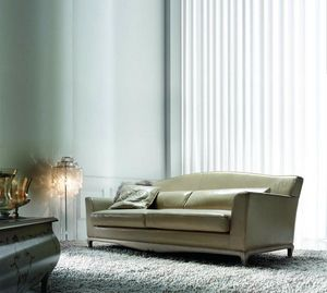 Gomez, Sofa with timeless elegance and great comfort