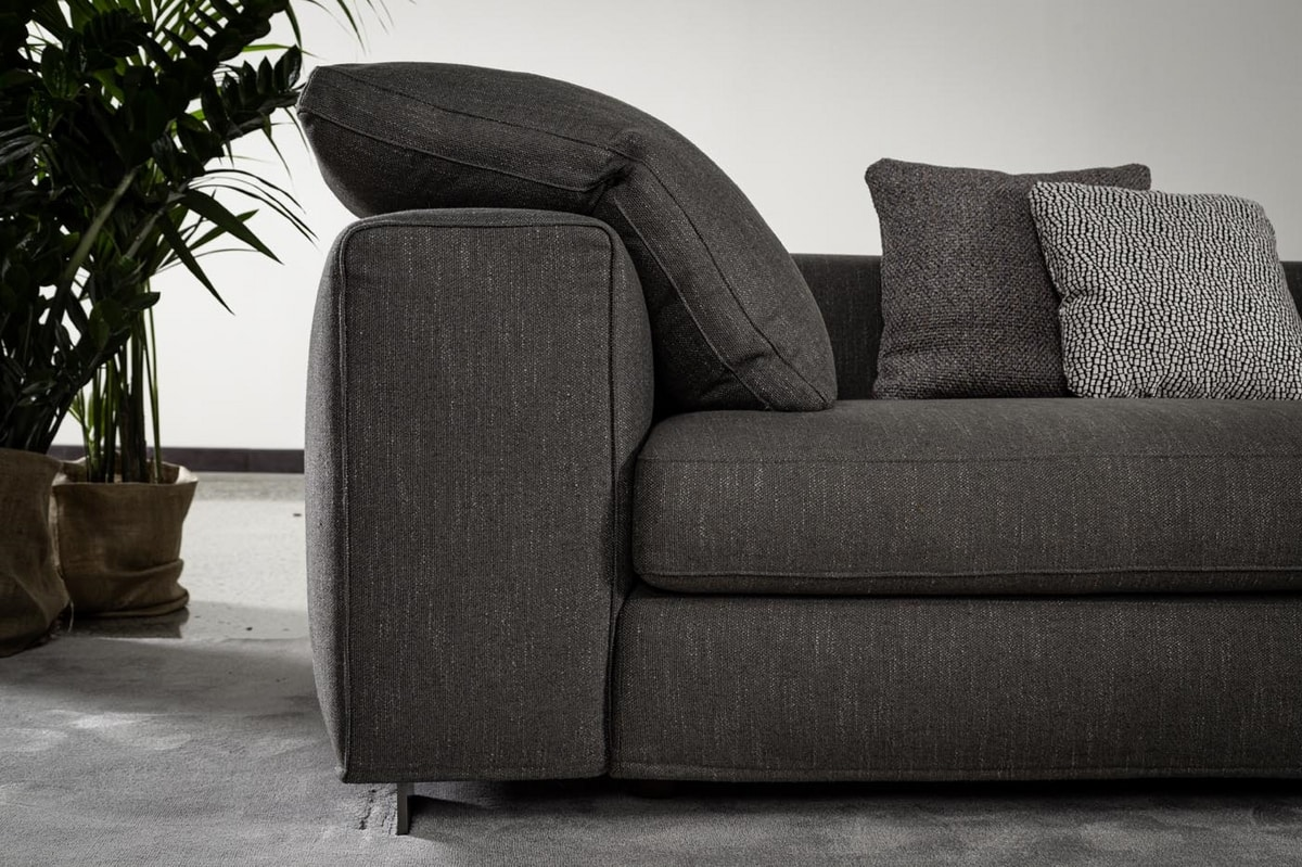Harry, Modular sofa with maxy soft backs