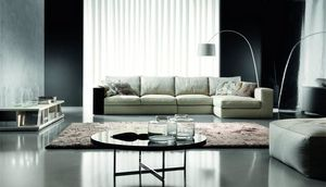 Hermes, Design sofa, with maximum comfort