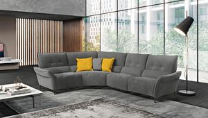 Leonardo, Versatile and dynamic sofa
