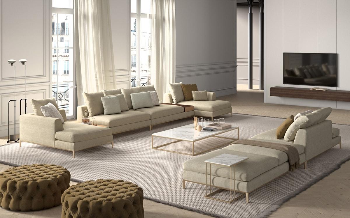 Louis, Sofa with minimal design