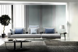 Mastroianni, Sectional sofa with a refined design