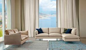 Maya, Sofa with a contemporary design