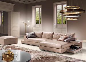 My Way Plus Evo, Modern sofa with customizable accessories