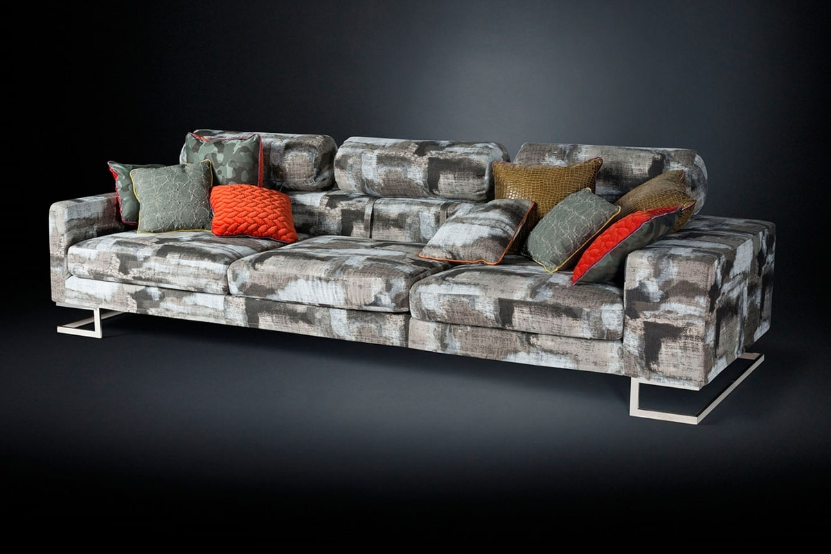 New York Bis, Linear sofa with removable cover