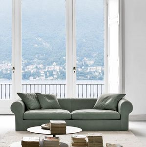 Overtime, 2 or 3 seater sofa with armrests