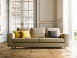 Palio, Sofa with linear and refined design