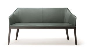 ROCK SOFA 020 D, Modern sofa, with solid wood legs