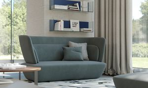 SOHO sofa, Sofa with rounded shapes