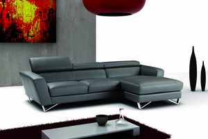 Sparta, Leather sofa with headrest