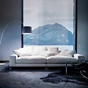 Take It Easy, Modern sofa upholstered with feather