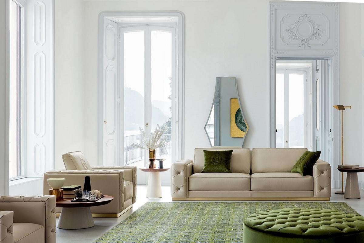Tracy, Sofa with a rigorous design