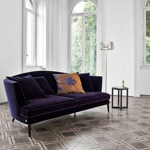 Tr�sor, 2-seater velvet sofa