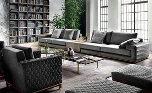 Visconti Plus, Elegant sofa