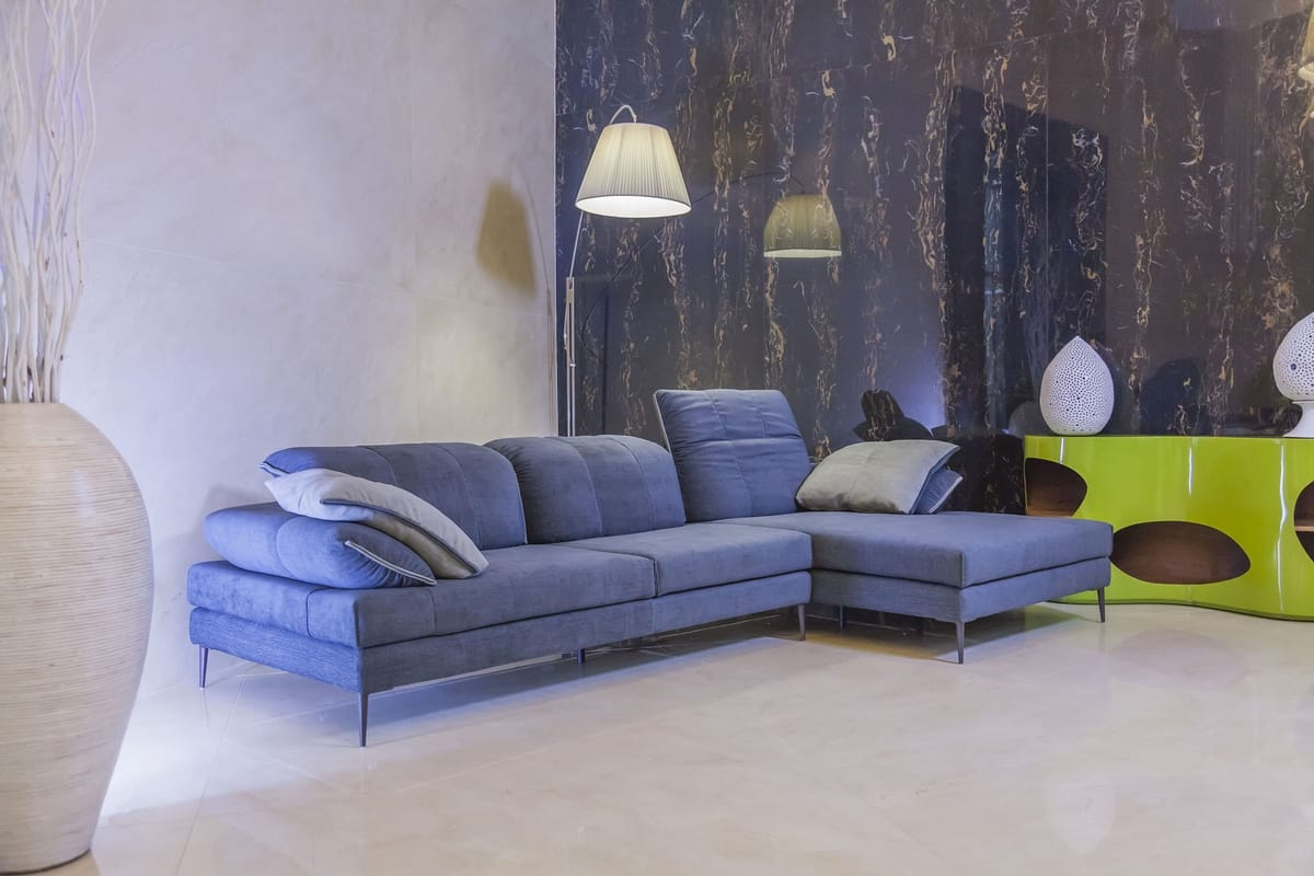 Prime Fabric Sofa With Chaise Longue Idfdesign Short Links Chair Design For Home Short Linksinfo