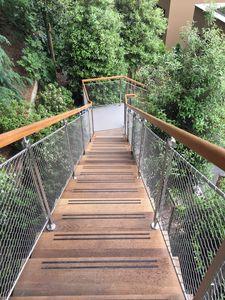 Art. C02, Outdoor wooden handrail