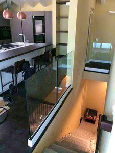 Art. P06, Glass railing